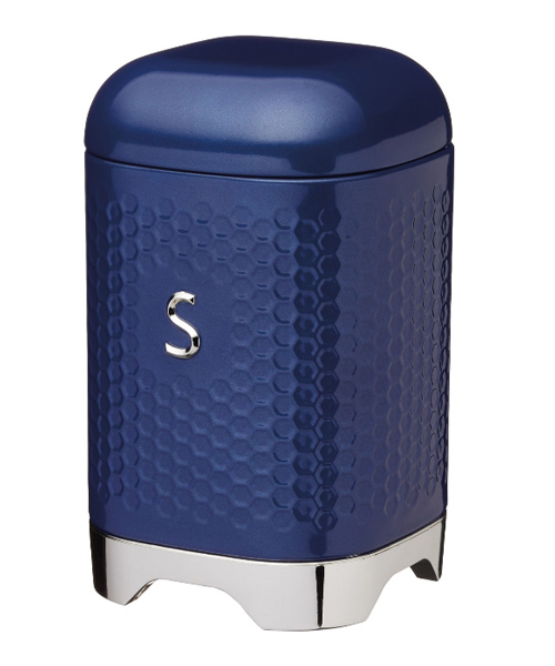 Sugar Canister Blue